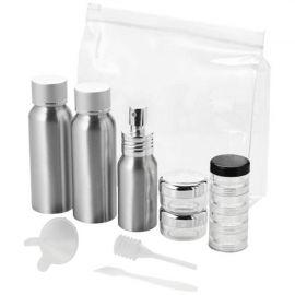 """Conjunto de frascos de viagem em alumínio aprovados para cabine """"Frankfurt"""""""
