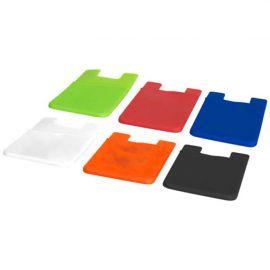 Porta-cartões de silicone fino