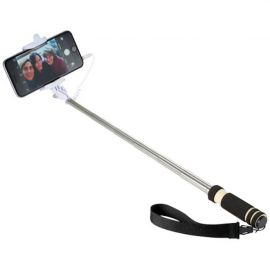 Pau de selfie pequeno com correia