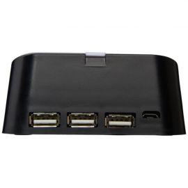 """Suporte de telefone e porta USB 3 em 1 """"Hopper"""""""