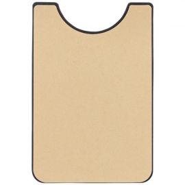 Carteira de silicone para telemóvel com espaço para dedo