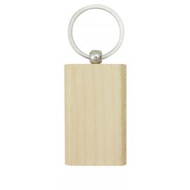 Porta chaves rectangular em Madeira