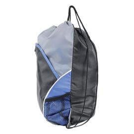 Saco mochila em nylon com bolsas frontais