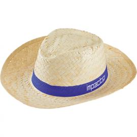 Chapéu de palha homem, palha clara
