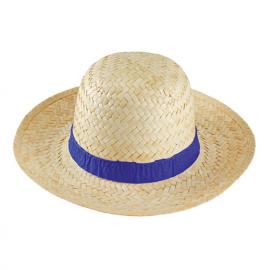 Chapéu de palha mulher, palha clara