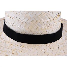 Banda colorida para chapéu de palha