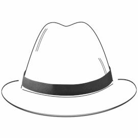 Fita para chapéu