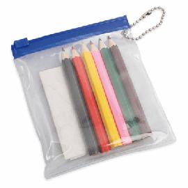 Bolsa PVC com Lápis