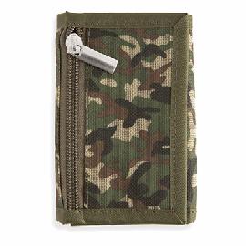 Porta-moedas camuflado Military