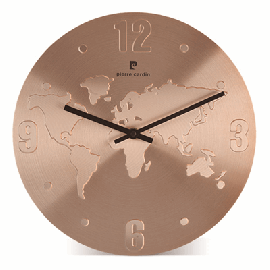 Relógio Mundi Mapa Pierre Cardin