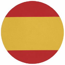 Almofada de Rato Circular Espanha