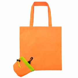 Bolsa Plegable Naranja Pol.210T