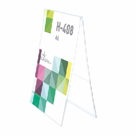 Portagráfica PVC Dúo Vertical A6