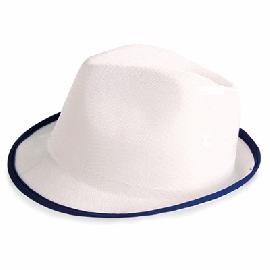 Chapéu Premium Branco con Ribete