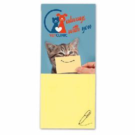 Cartão Notas Adhesivas