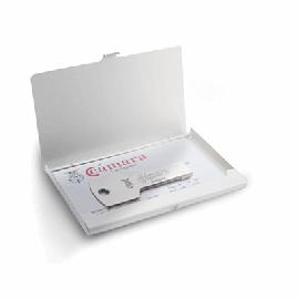 Porta-cartões de Aluminio