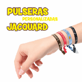 Pulseira Personalizada Jacquard