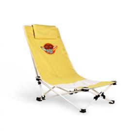 Cadeira de praia com almofada cervical