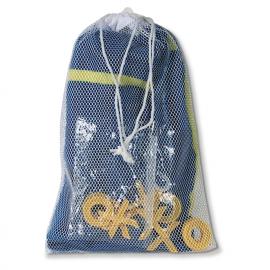 Toalha Tic-Tac-Toe com jogo. 100% algodão. 300g/m2
