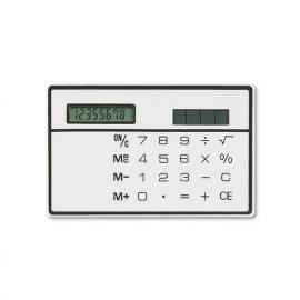 Calculadora solar em forma de cartão de credito, de 8 dígitos