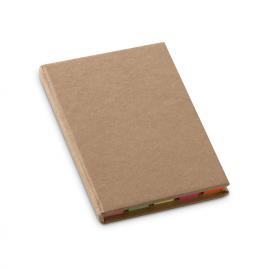 Set de notas com capa rija de cartão reciclado