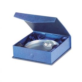 Elegante troféu em forma de esfera em cristal