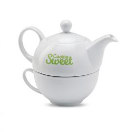 Conjunto de chá, com Bule 400 ml
