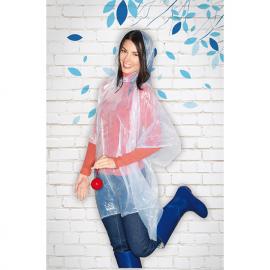Impermeável chuva transparente fabricado em PE