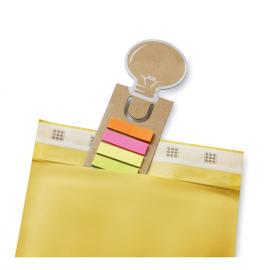 Marcador de livros, com forma de Lâmpada
