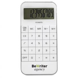 Calculadora com 10 dígitos em ABS. Inclui 1 pilha AG13.