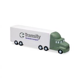 Anti stress em PU, com forma de camião.