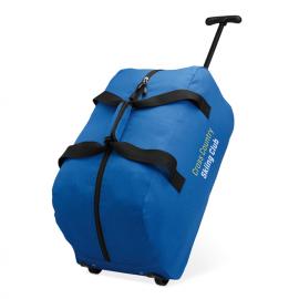 Bolsa Trolley de viagem com fecho. Poliéster 600D.