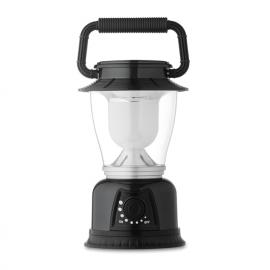 Luz camping em ABS com um branco de luz LED e mostrador brilho ajustável..