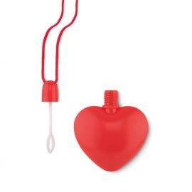 Soprador de bolhas em forma de coração