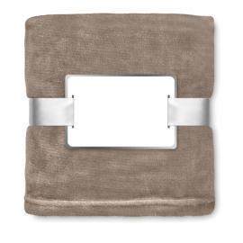 Manta de lã de flanela.