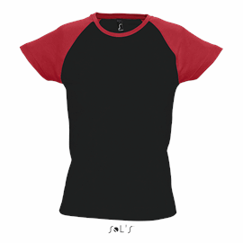 T-SHIRT BICOLOR MULHER MILKY