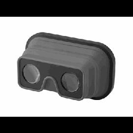 """Óculos de realidade virtuais dobráveis em silicone """"Sil-val"""""""