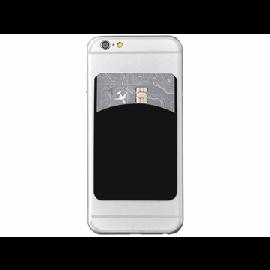 """Porta-cartões de silicone para telemóvel com espaço para dedo """"Storee"""""""