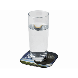 Base para copos quadrada com material de pneus Brite-Mat®