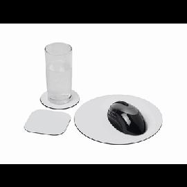 Conjunto de tapete para rato e base para copos Brite-Mat® 4