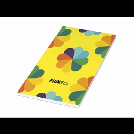 Bloco de notas com capa laminada 1/3 A4 Desk-Mate®