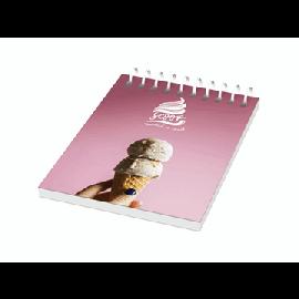 Caderno A7 espiral de arame com capa em PP Desk-Mate®