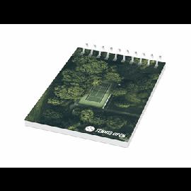Caderno A7 espiral em metal Desk-Mate®
