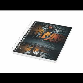 Caderno A6 com capa sintética Desk-Mate®