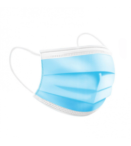 Máscara protectora descartável, 3 camadas