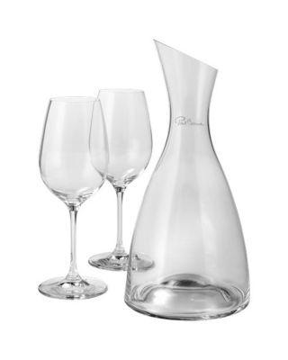 """Decanter """"Prestige"""" com 2 copos de vinho"""