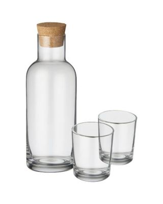 "Garrafa com conjunto de copos ""Lane"""