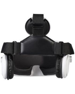 Óculos de realidade virtual com auriculares