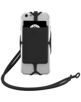 Suporte para cartões RFID em silicone com fita