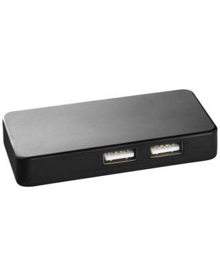 """Hub USB com dois cabos """"Grid"""""""